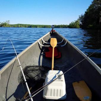 Kawartha Canoe Fishing