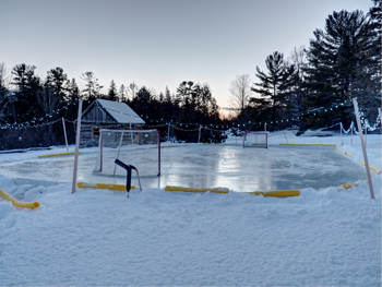 balsam lake ice rink