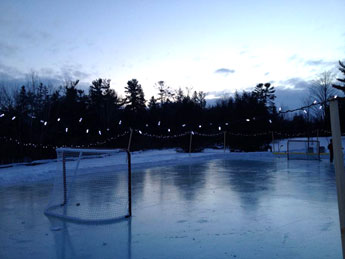 Time for an evening skate