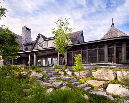 Waterfront cottage landscaping ideas - Kawartha Waterfront ... on Waterfront Backyard Ideas id=34663